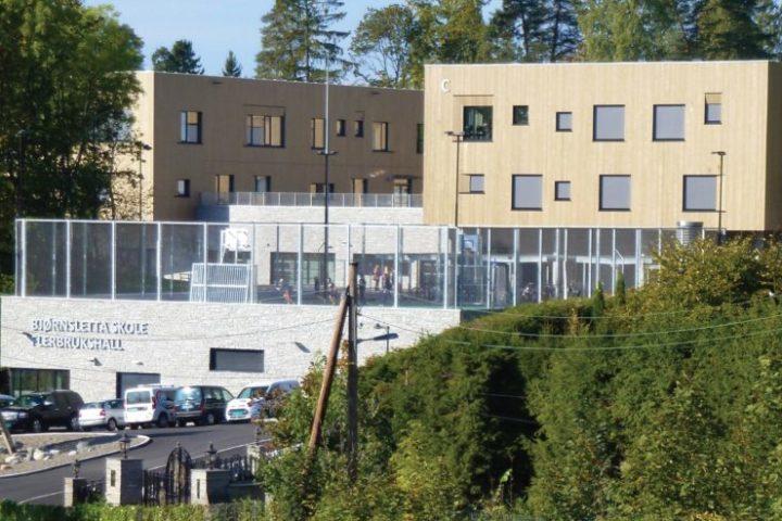 Fasadebilde Bjørnsletta skole