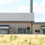 Fasadebilde av energisentral på Holmenstrand