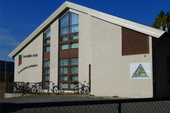 Fasade Jansløkka skole