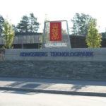 Fasadebilde av Kongsberg Teknologipark