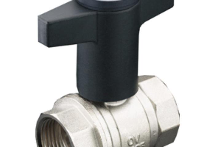 Stenge/kuleventiler Optibal m/termometer
