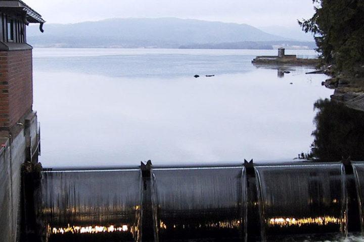 Utendørs bilde av Oset vannrenseanlegg