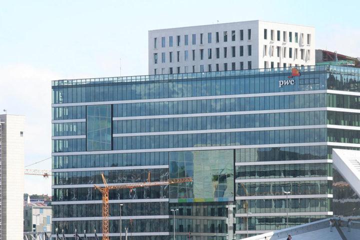 PWC Bygget – Barcode, Oslo