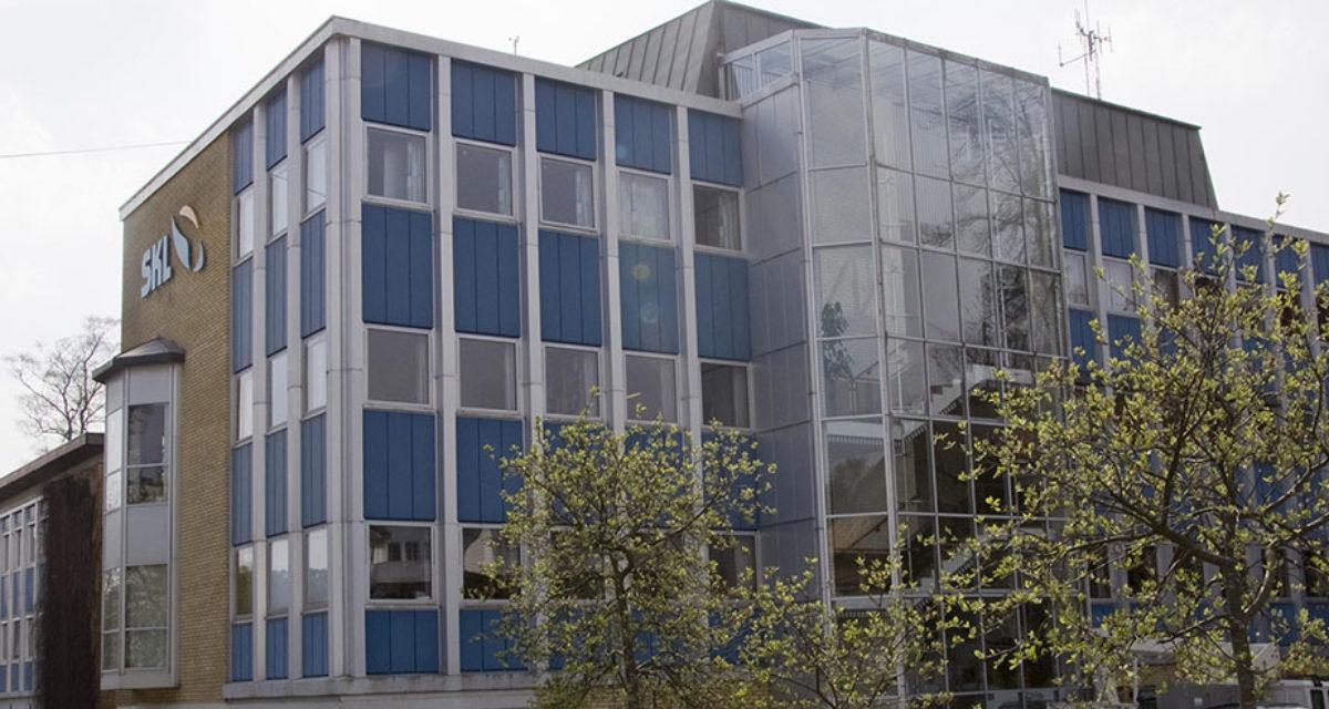 Fasadebilde SKL bygget på Stord