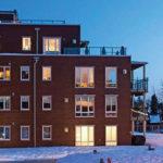 Fasadebilde boligblokk Sogstiveien i Drøbak
