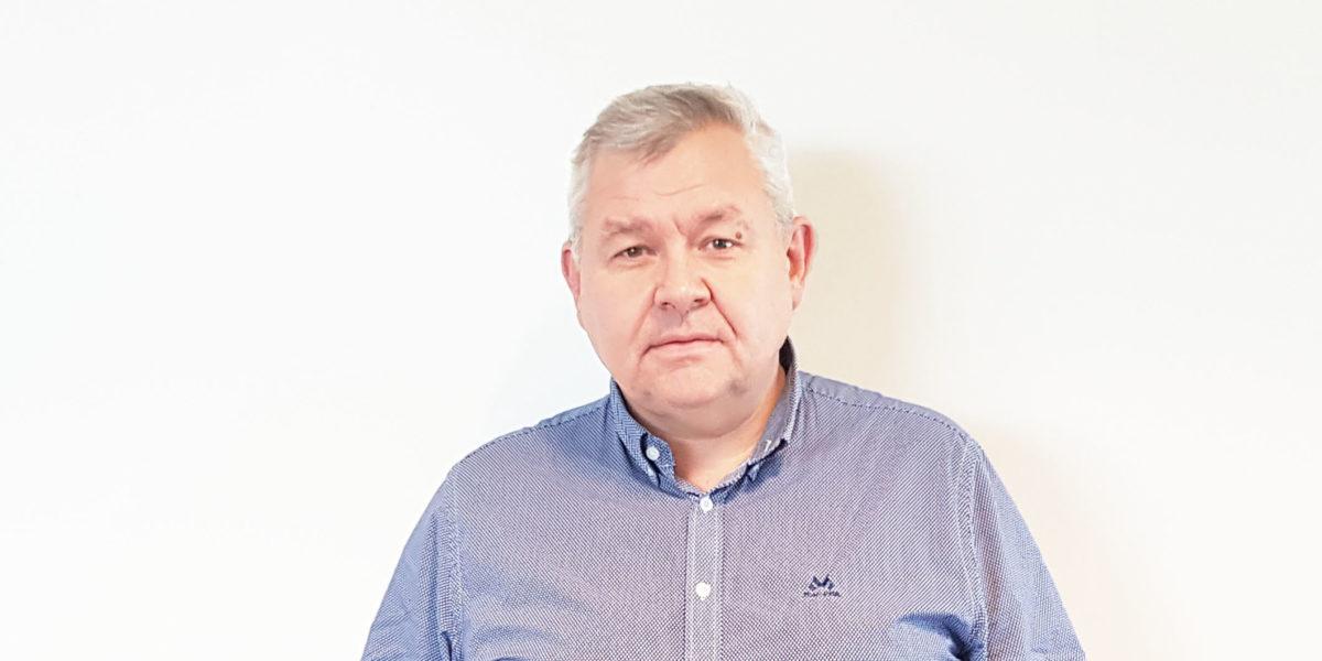 Ansatt i SGP Armatec Tom Konow