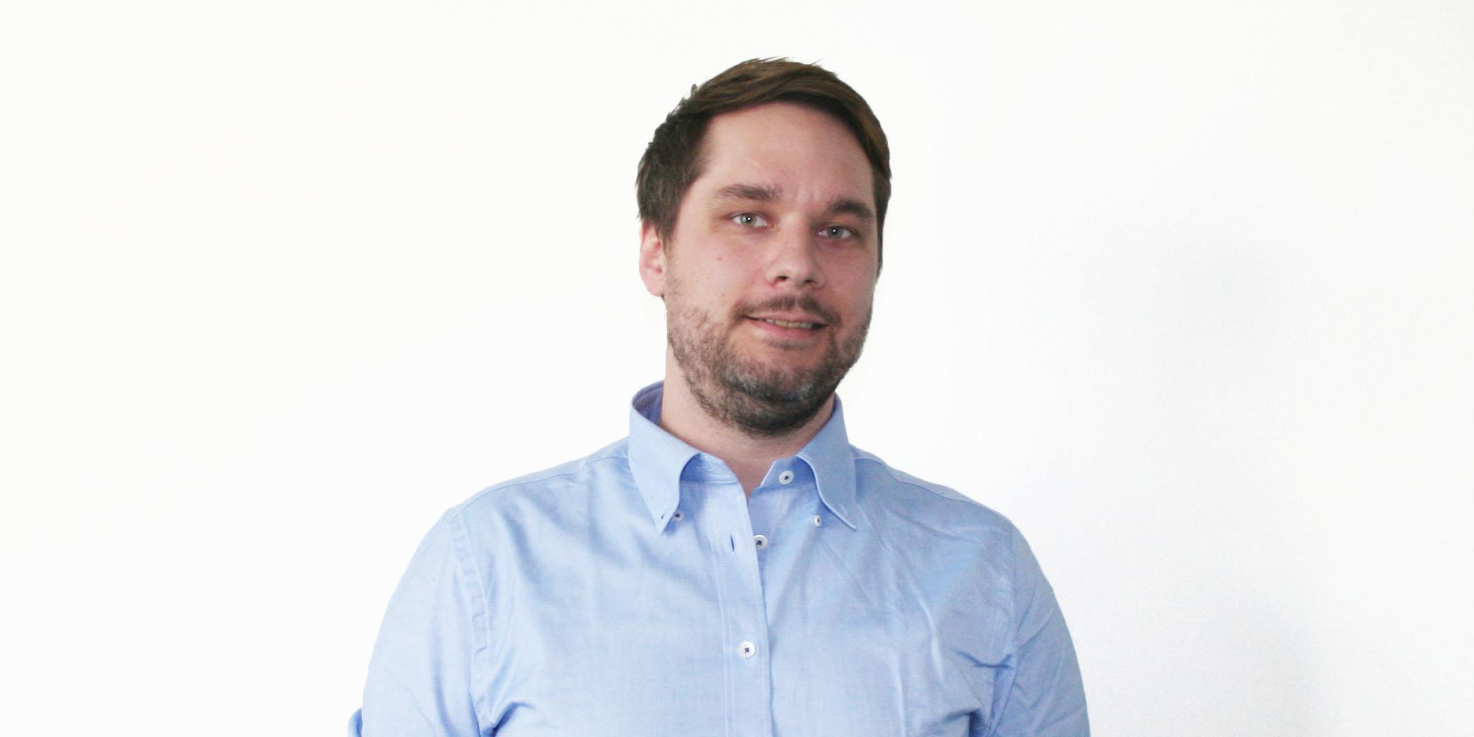 Ansatt i SGP Armatec Johan Nilsson