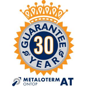 Metaloterm 30 års garanti