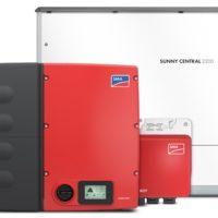 Produktbilde: SMA invertere for solstrøm anlegg