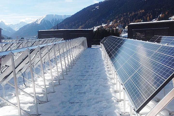 Skal produsere egen miljøvennlig strøm på taket