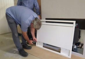 Ny hurtigguide for montering av innebygde viftekonvektorer