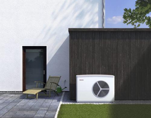 WPL-ACS luft til vann varmepumpe utendørs