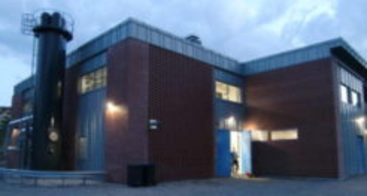 Fasade Førdefjorden Energi