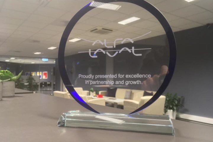 Alfa Laval pokal for dyktighet i partnerskap og vekst