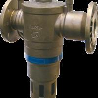 Produktbilde: Flenset tilbakeslagsventil beskytter drikkevannsnettet mot forurensning ved tilbakestrømning.