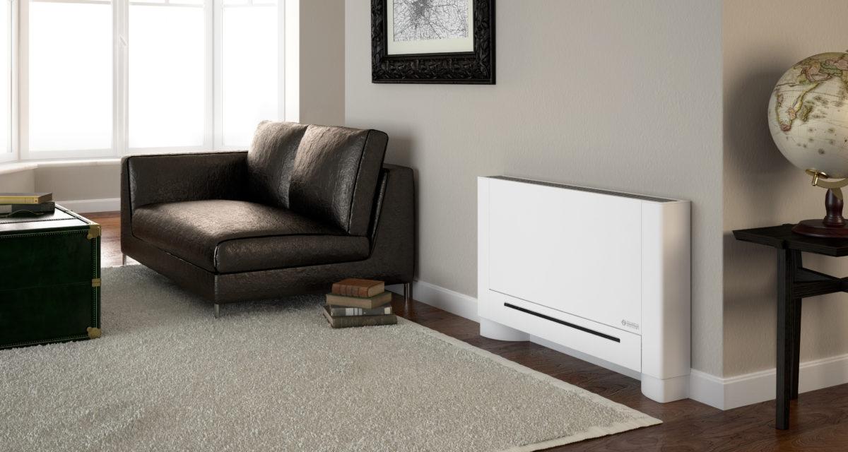 Visste du at en viftekonvektor kan benyttes både til å varme opp og kjøle ned din bolig?