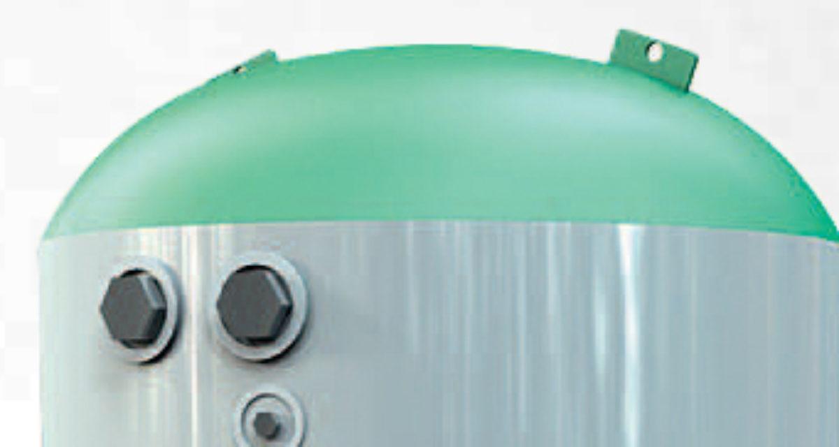 Ny akkumulatortank for akkumulering/oppvarming av tappevann!
