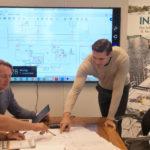 Planleggingsmøte med VITO teknisk entreprenør i forbindelse med utbyggingen av nye Flesberg skole