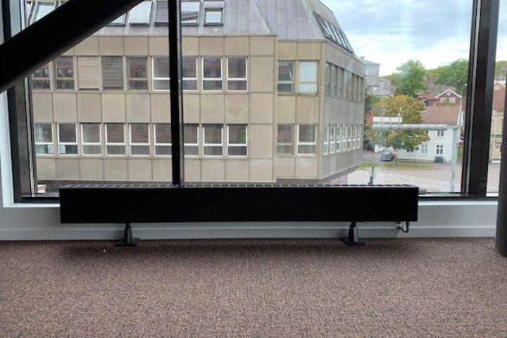 Installerte 300 radiatorer uten bommert